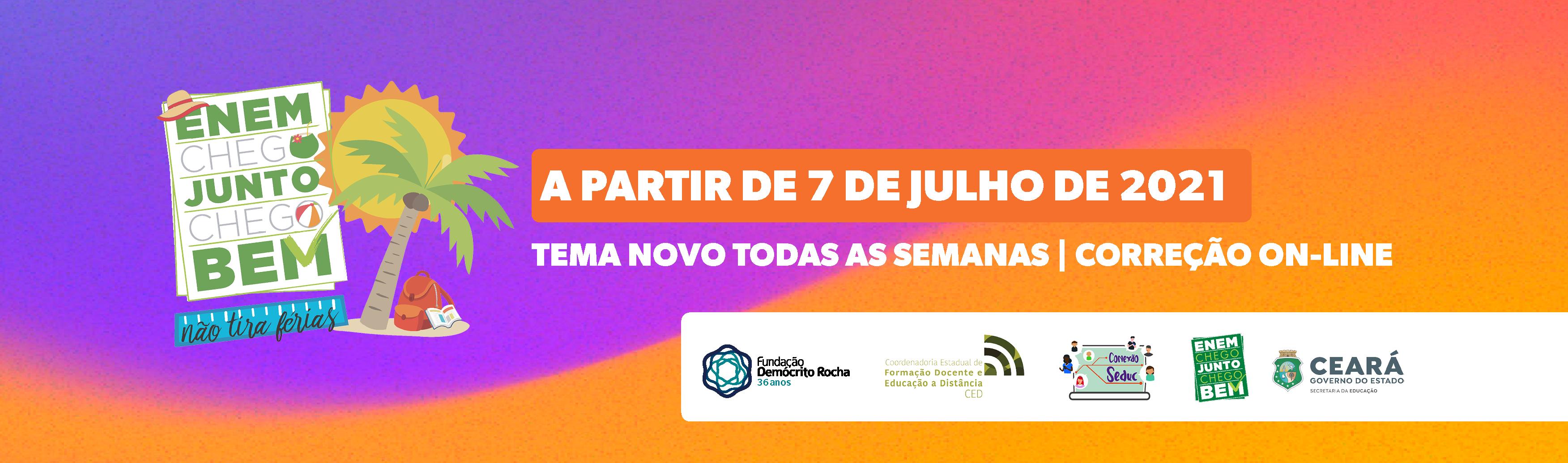 Course Image Enem MIX - 2021 - Enem Não Tira Férias