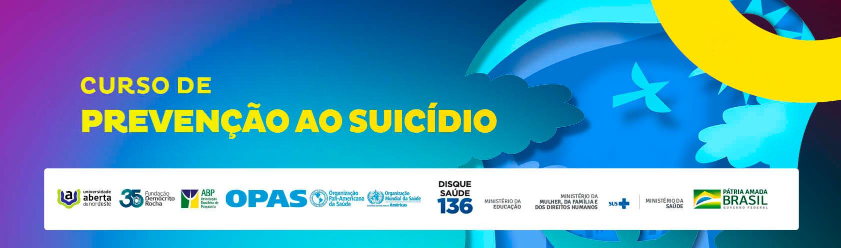 Course Image PREVENÇÃO AO SUICÍDIO - 2020.2